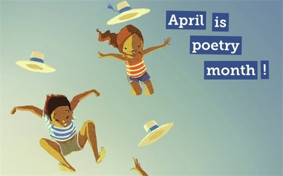April is Poetry Month sign