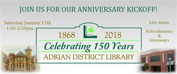 Image: Celebrating 150 years banner