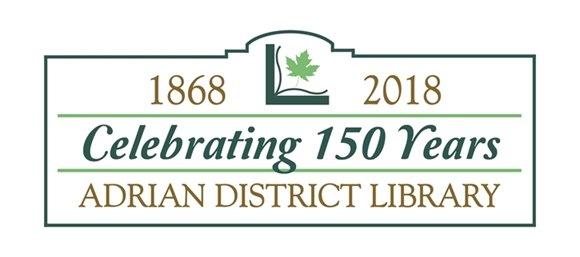 Library anniversary logo