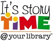 It's storytime at your Library logo