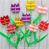 photo of tulip craft