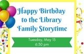 Happy Birthday storytime