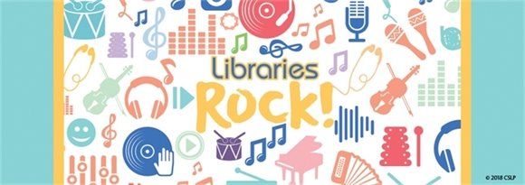 Libraries Rock banner